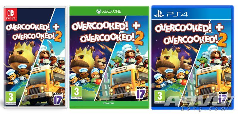 《胡闹厨房1+2》合辑11月发售 定价与2代相同等于1代免费送