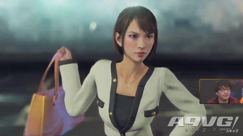 《如龙7》最新实机试玩 上坂堇配音角色向田纱荣子战斗演示