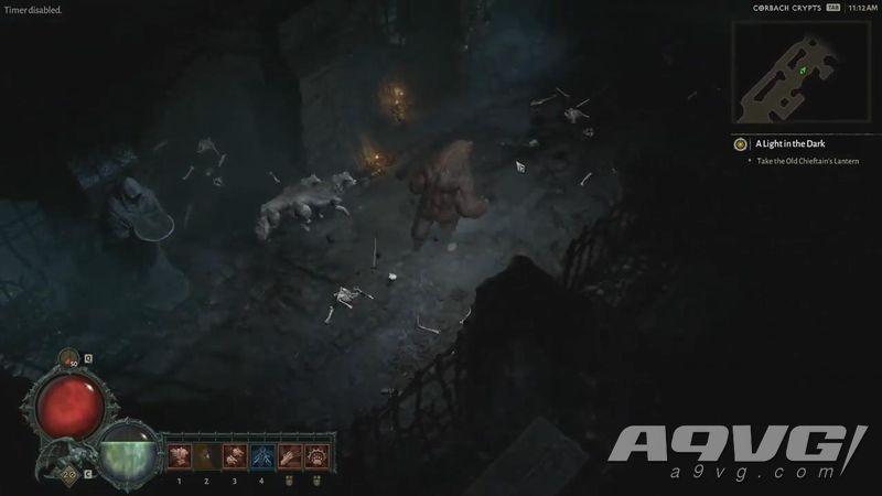 GI公开《暗黑破坏神4》德鲁伊20分钟实机演示视频