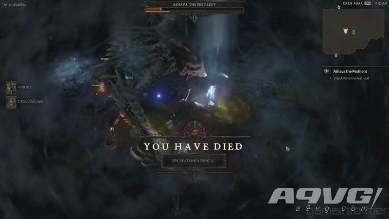 《暗黑破坏神4》世界Boss演示 十多位玩家协同作战