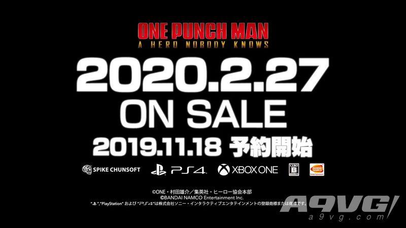 《一拳超人 无名英雄》梦中的埼玉登场 发售日期公布