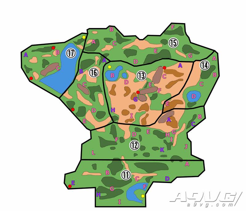 《宝可梦 剑盾》旷野地带地图 极巨化巢穴属性分布攻略
