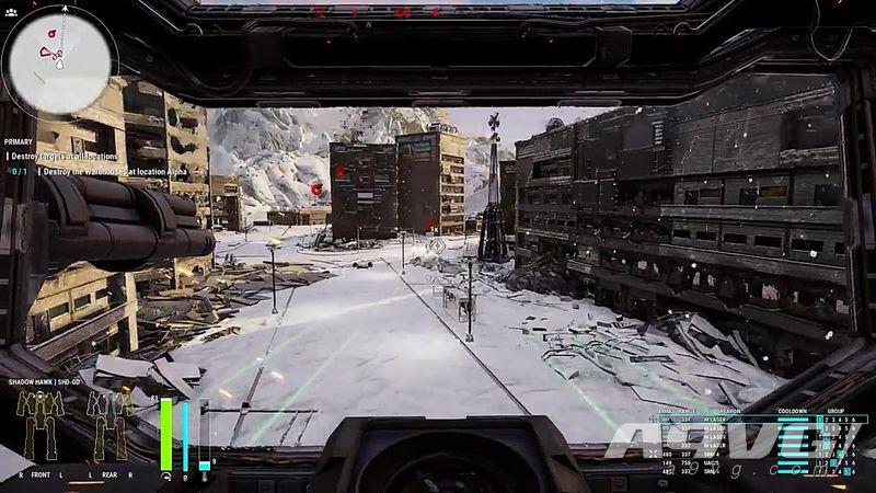 《機甲戰士5》新官方演示公開 玩家可走進機庫觀察自己的機甲