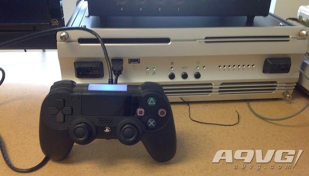 PS5開發機最新實機照片泄露 深V造型是為了方便從側面散熱