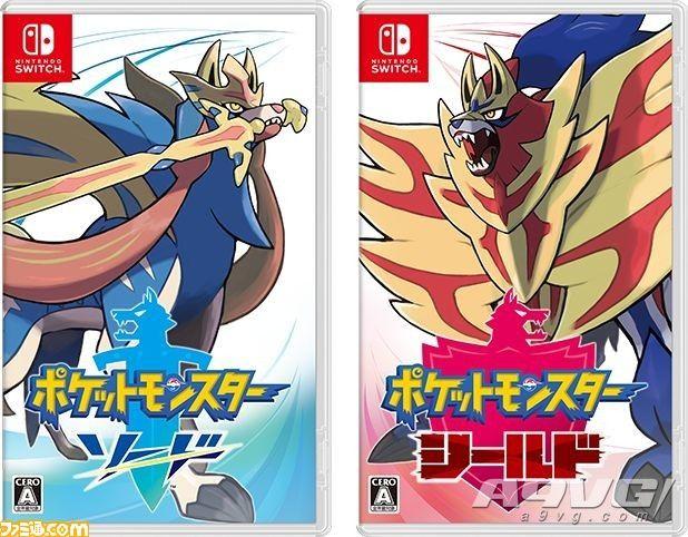 日本家用游戏市场11月数据 《宝可梦 剑/盾》174万夺得榜首