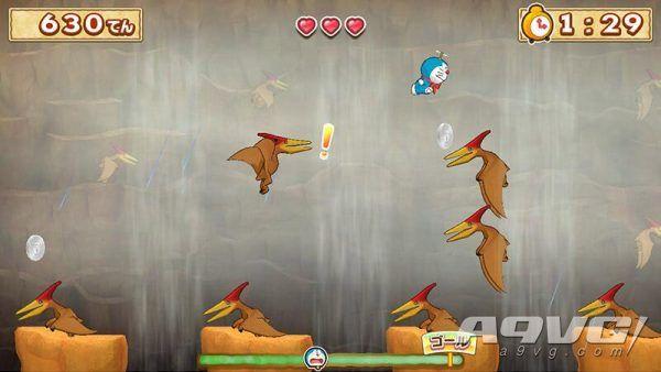 《哆啦A梦 大雄的新恐龙》公开一组游戏画面 动作冒险玩法