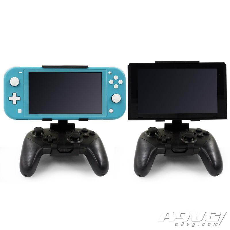 周边厂商推出Switch Pro手柄用支架 可固定Switch/Switch Lite