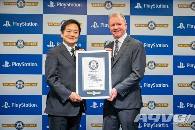 PlayStation被吉尼斯世界记录认证为最畅销的家用机品牌
