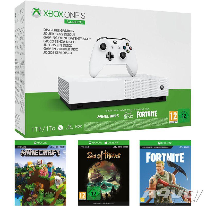Xbox One取得英国黑五商战冠军 Switch以微弱差距排在第二