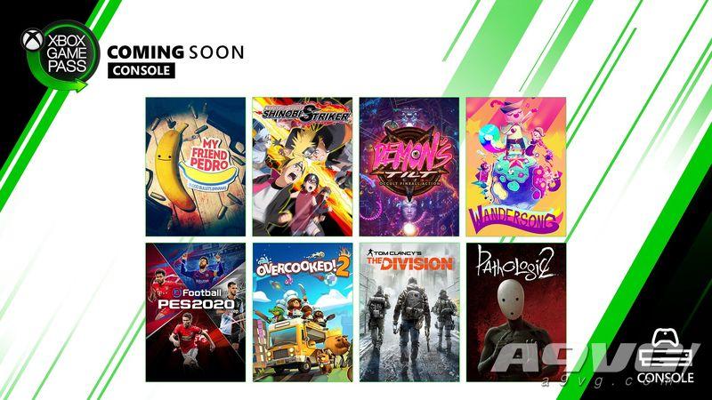 多款游戏即将加入XGP 包含实况足球2020、全境封锁