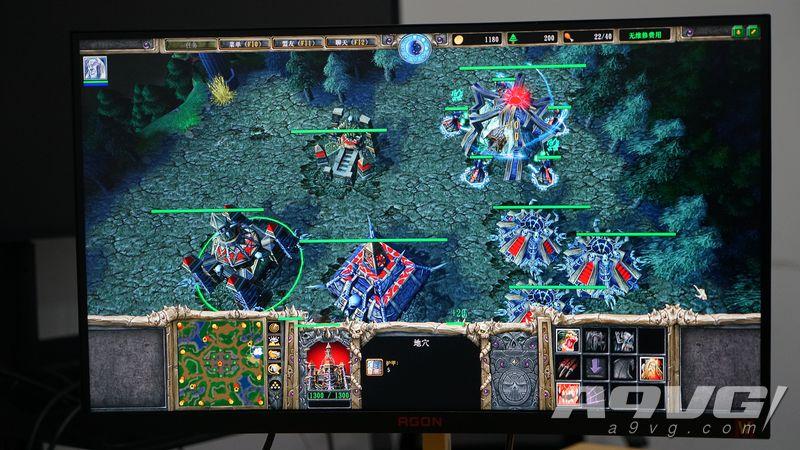 AGON爱攻《魔兽争霸3 重制版》定制显示器上手体验评测