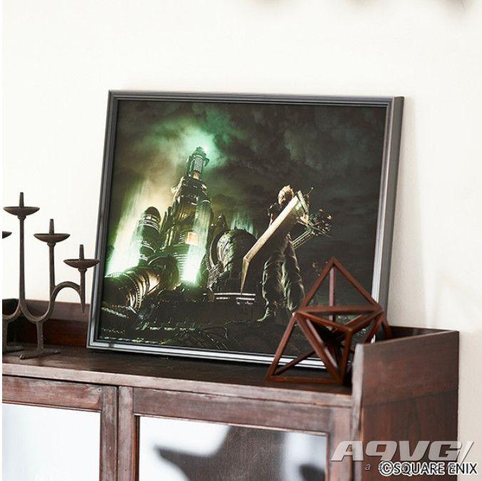 《最终幻想7 重制版》将推出8款高精彩艺术复制原画