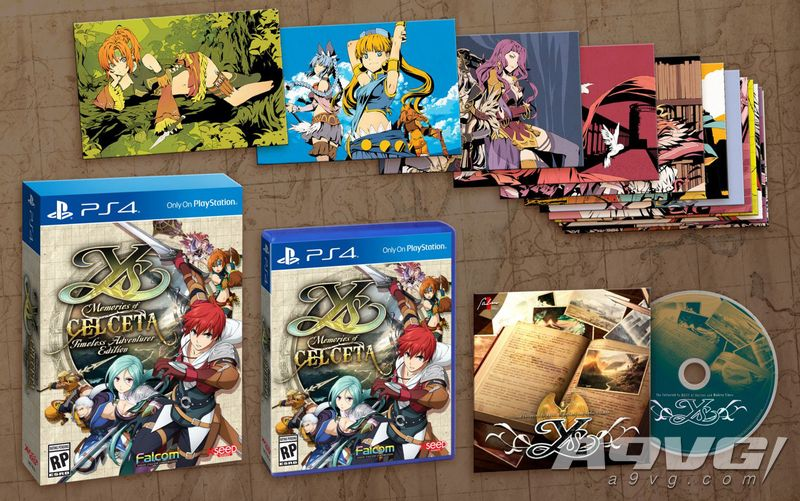 PS4《伊苏 塞尔塞塔的树海 改》中文版将于2020年3月发售
