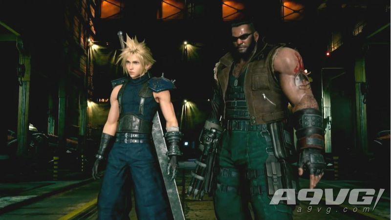 《最终幻想7 重制版》试玩版泄露30分钟视频 一号魔晄炉引爆作战