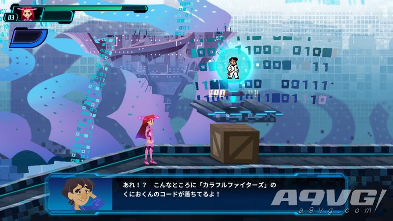 2D像素动作游戏《Code Shifter》发表 包含多个经典系列的角色