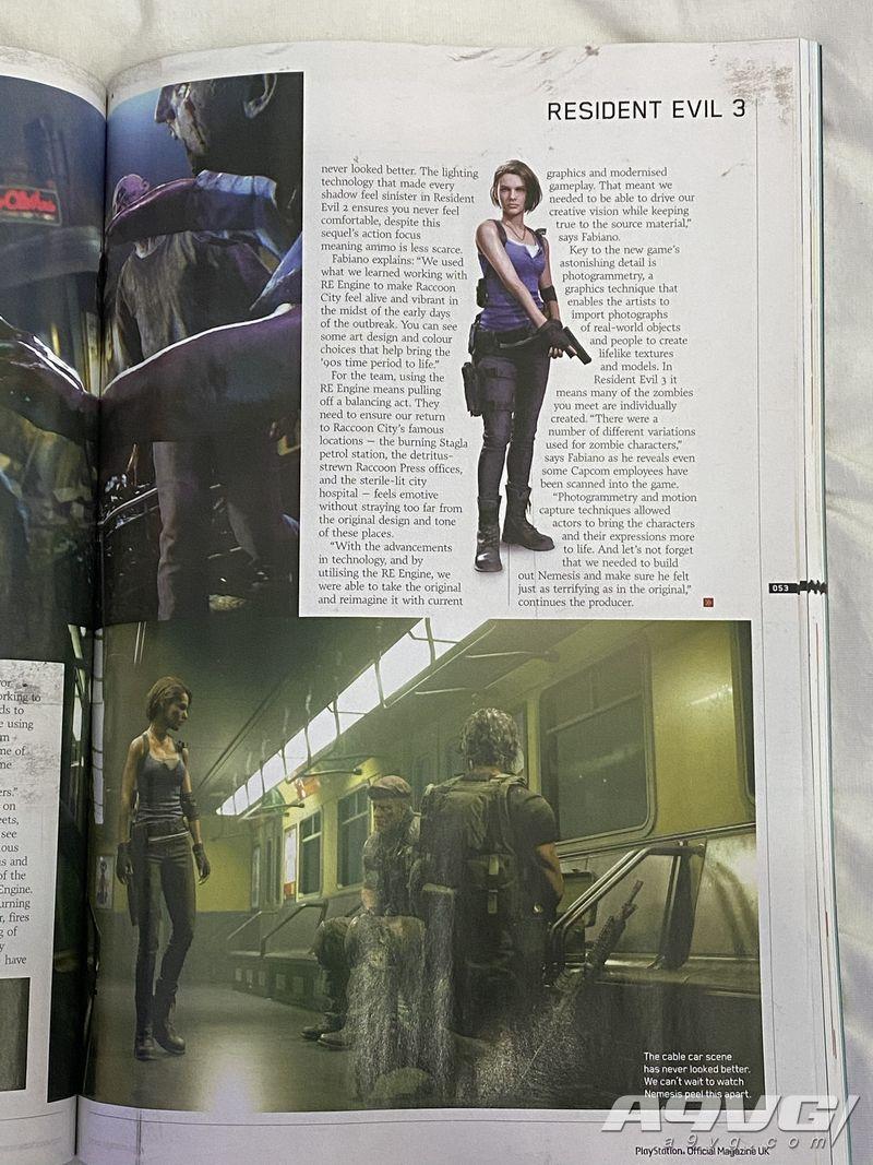 《生化危机3 重制版》没有佣兵模式 追击者为暴君AI升级版