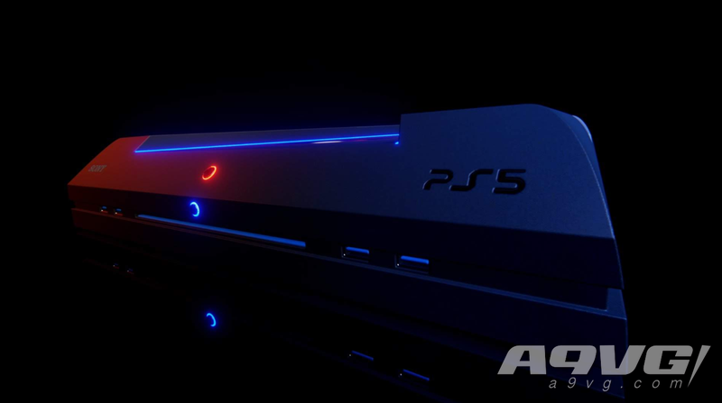 粉丝在《Dreams》里制作了基于开发机的PS5概念图