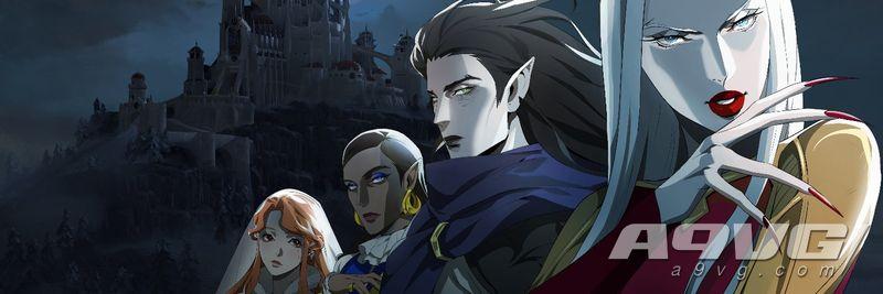 網飛《惡魔城》動畫第三季首張視覺圖公開 卡米拉回歸