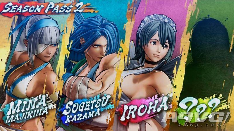 《侍魂 曉》季票2角色發表:伊呂波、風間蒼月、真鏡名彌娜等
