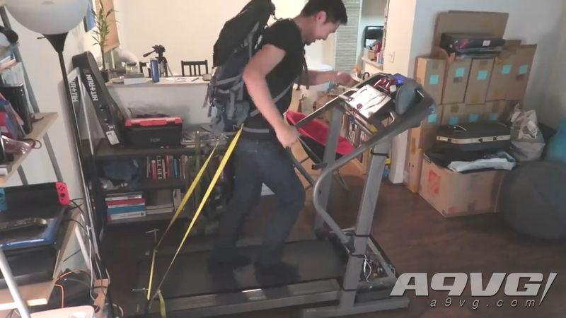 國外強者將跑步機與PS4手柄結合 徒步體驗《死亡擱淺》