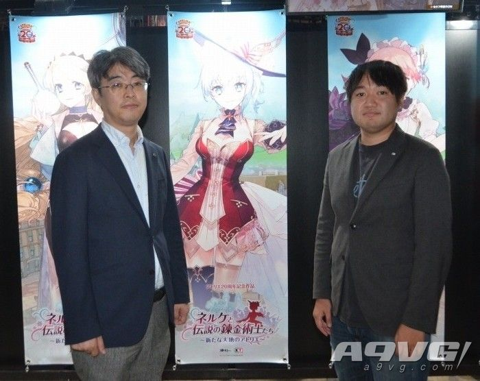 《炼金工房》系列制作人细井顺三晋升为GUST品牌负责人