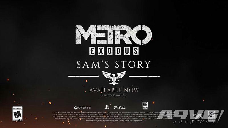 《地铁 大逃亡》DLC「山姆的故事」上市预告片公开