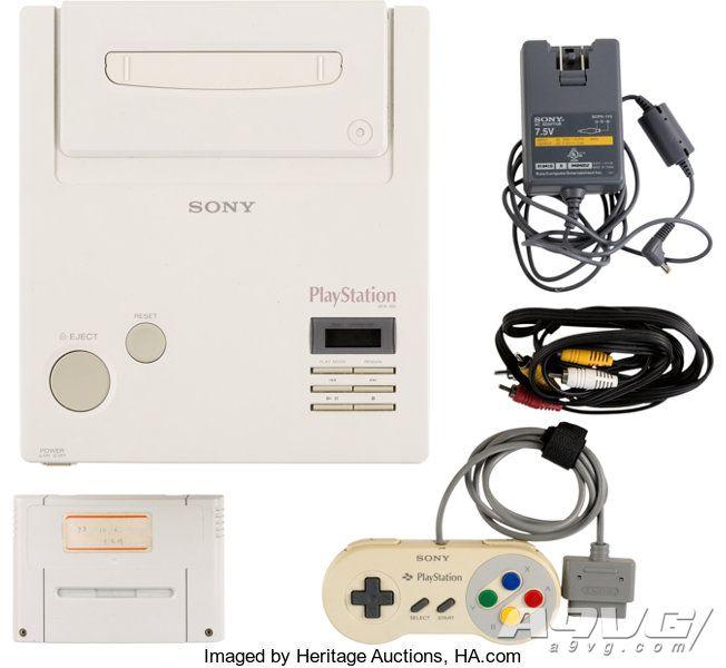 传说中的游戏机Nintendo PlayStation将在3月进行拍卖