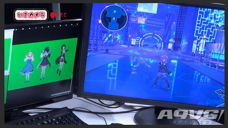 《海王星》系列新作《VVVTUNE》公开试玩演示及制作花絮影像