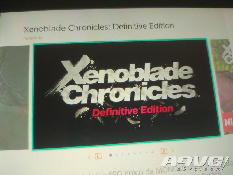 《异度神剑 决定版》、《英雄不再3》游戏信息在eShop出现