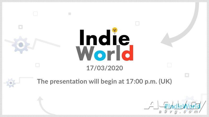 任天堂将于3月18日凌晨举办IndieWorld独立游戏直面会