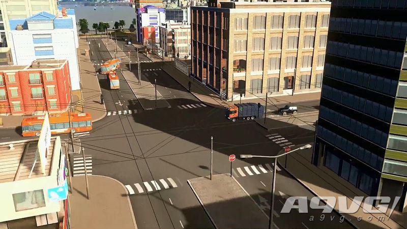 """《城市 天际线》最新DLC""""日落港""""公开 将于3月26日推出"""