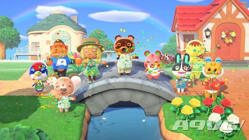 《集合啦!动物森友会》创英国Switch游戏首发记录