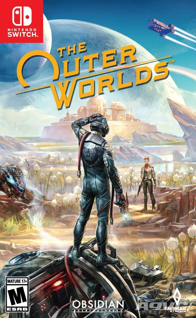《天外世界》Switch版將於6月5日發售 首日補丁大約6G