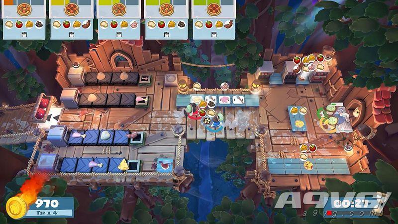 《胡闹厨房2》完全版即将登陆PS4/X1/NS PC版4月16日发售