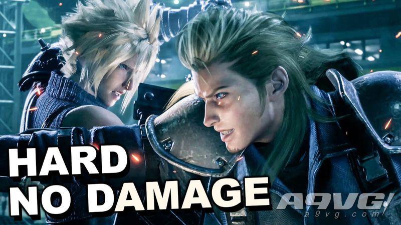 《最终幻想7 重制版》困难BOSS战也能无伤?高玩带来精彩视频