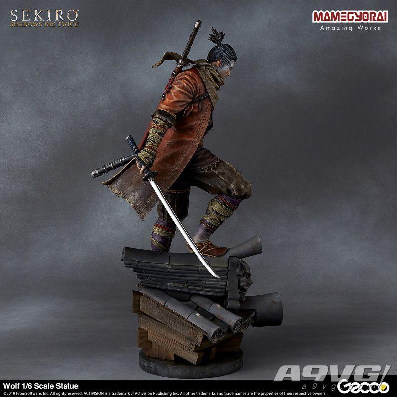 《只狼 影逝二度》主角狼1/6雕像公开官方预览图 9-11月发售