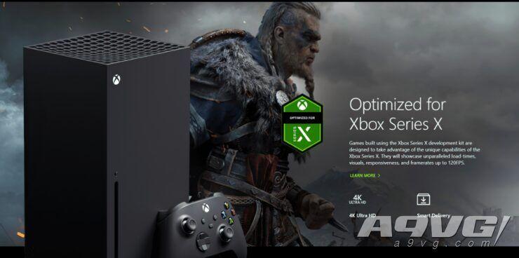 育碧确认《刺客信条 英灵殿》在XSX主机上至少以30帧运行