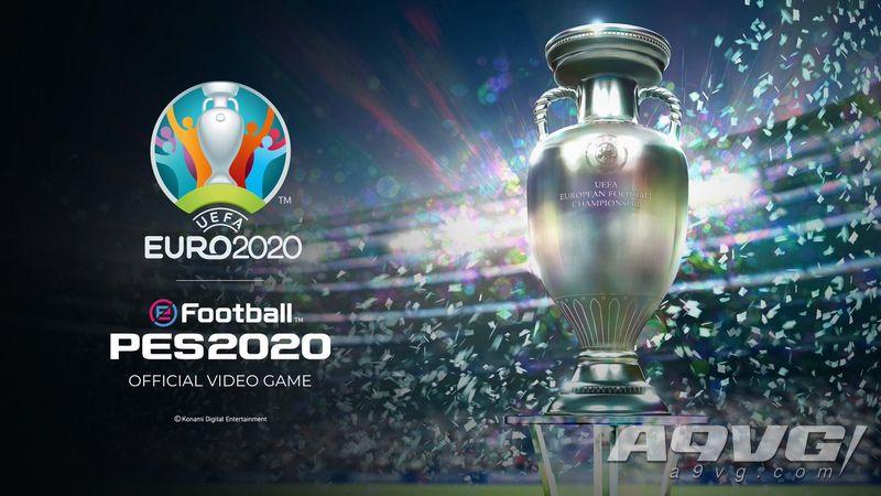 """《实况足球2020》大型免费更新""""欧洲杯2020""""公布新推出日"""