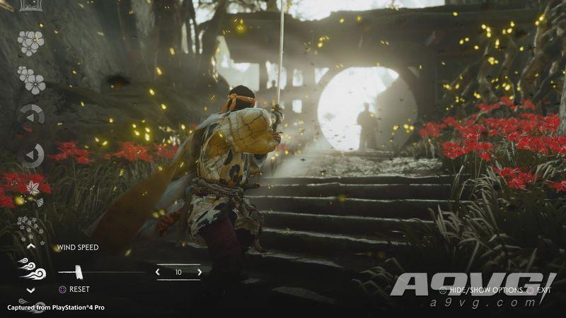 《对马岛之魂》公开一组4K高清画面 采用PS4 Pro直接截取