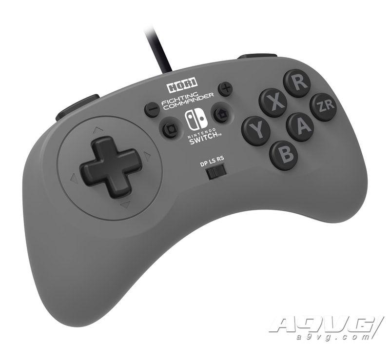 HORI将推出Switch用格斗游戏手柄FIGHTING COMMANDER