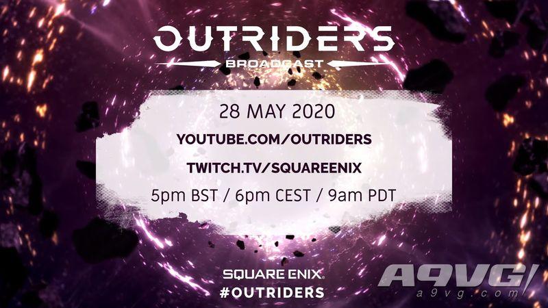 《Outriders》將在5月28日播出廣播節目 會有新情報公開