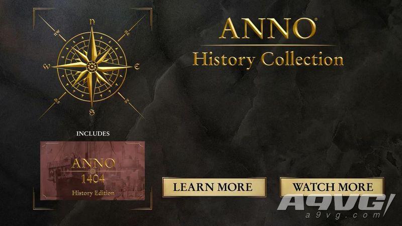 育碧公開《紀元 歷史合集》宣傳片 6月25日登陸PC平台