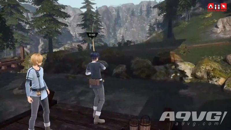 《刀劍神域 彼岸游境》公開新宣傳片展示游戲特色 還有釣魚