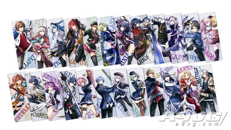 《英雄传说 创之轨迹》限定版特典24名角色海报公开完整预览