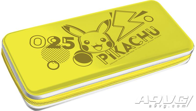 HORI与皮卡丘合作推出一系列Switch用周边产品 手柄耳机等