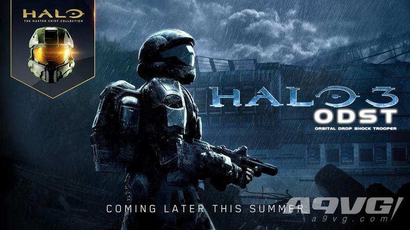 《光环3 地狱伞兵》PC版先行预告片公开 枪林弹雨模式回来了