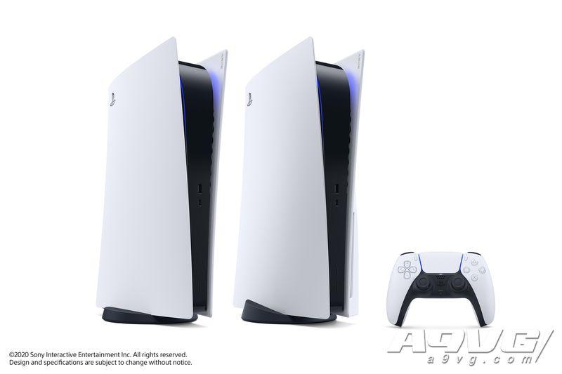 PS5外形正式公布 同时推出无光驱的数字游戏专用版