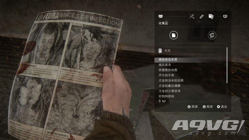 《最后生還者2》全收集要素視頻攻略 收集要素一覽