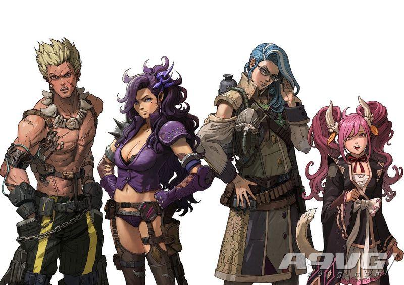 《重装机兵Xeno Reborn》公开全新角色造型 二周目可切换原版