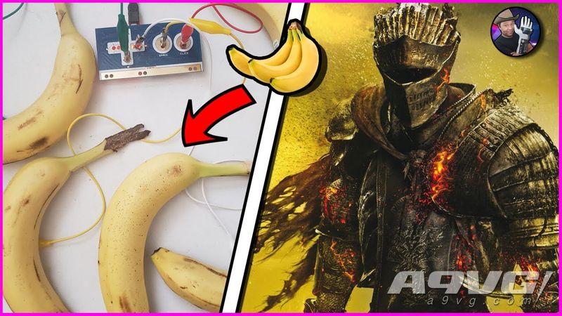 """油管主播用香蕉击败《黑暗之魂3》最终Boss""""薪王们的化身"""""""